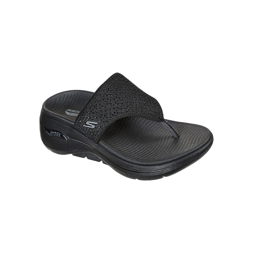 Skechers Women Go Walk Arch Fit On-The-Go Sandals Shoes - 140221-BBK