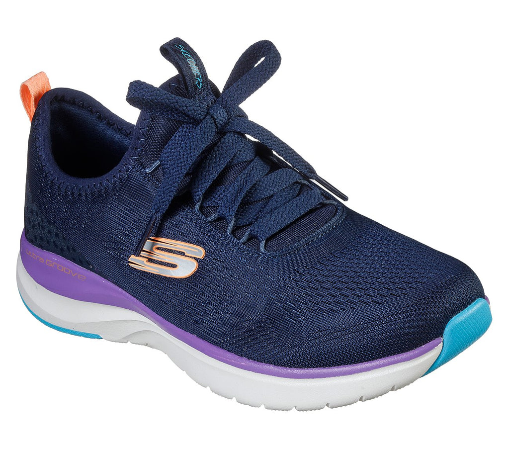 Skechers Women Ultra Groove Shoes - 149021-NVMT