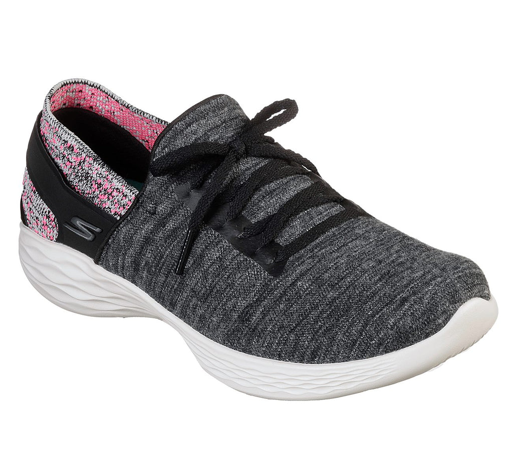 Skechers You Women Lifestyle Shoe - 15809-BKPK