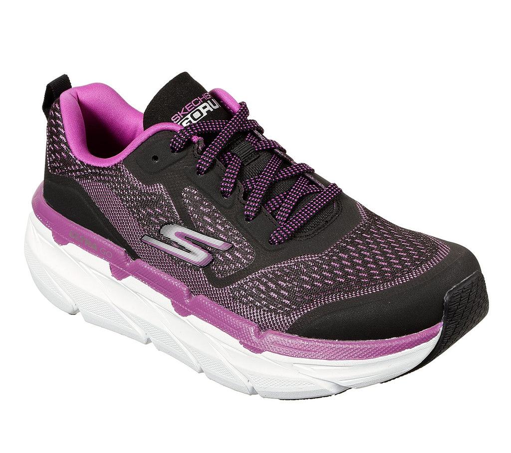 Skechers Women Performance Max Cushioning Premier Shoes - 17690-BKPR