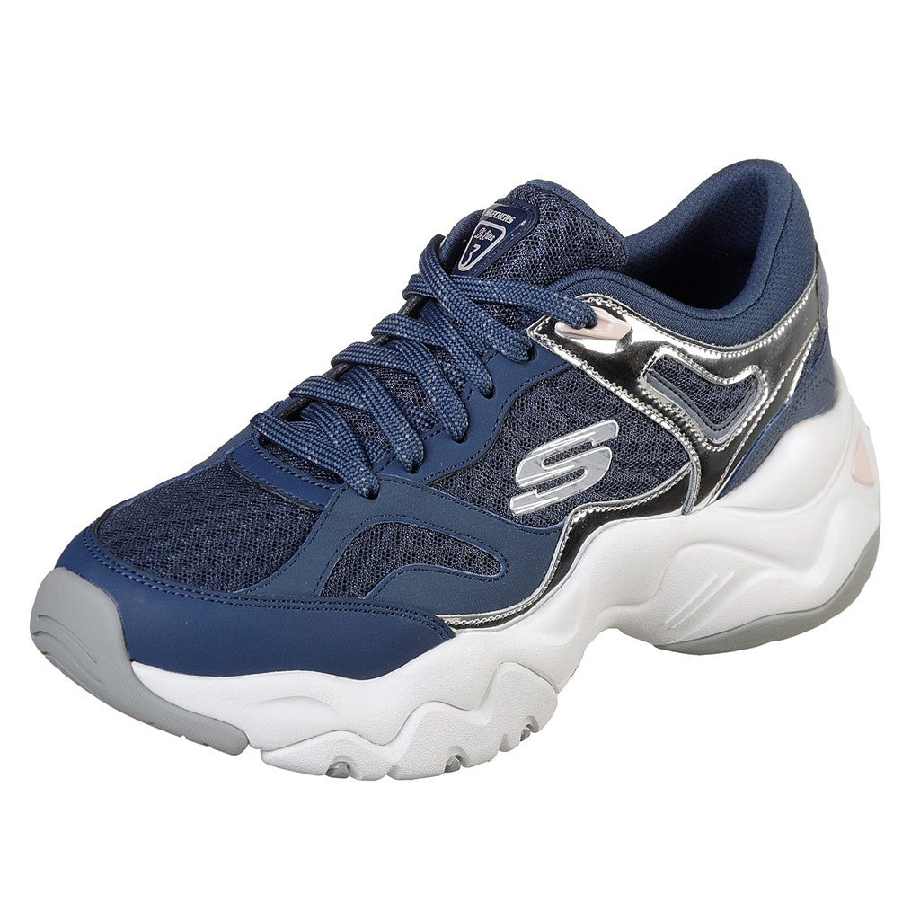 Skechers Women Sport D'Lites 3 Shoes - 12958-NVSL