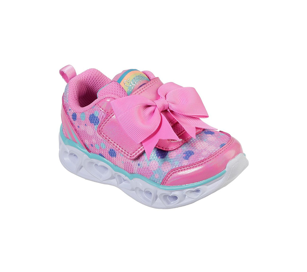 Skechers Girls Heart Lights Shoes - 20265N-HPTQ