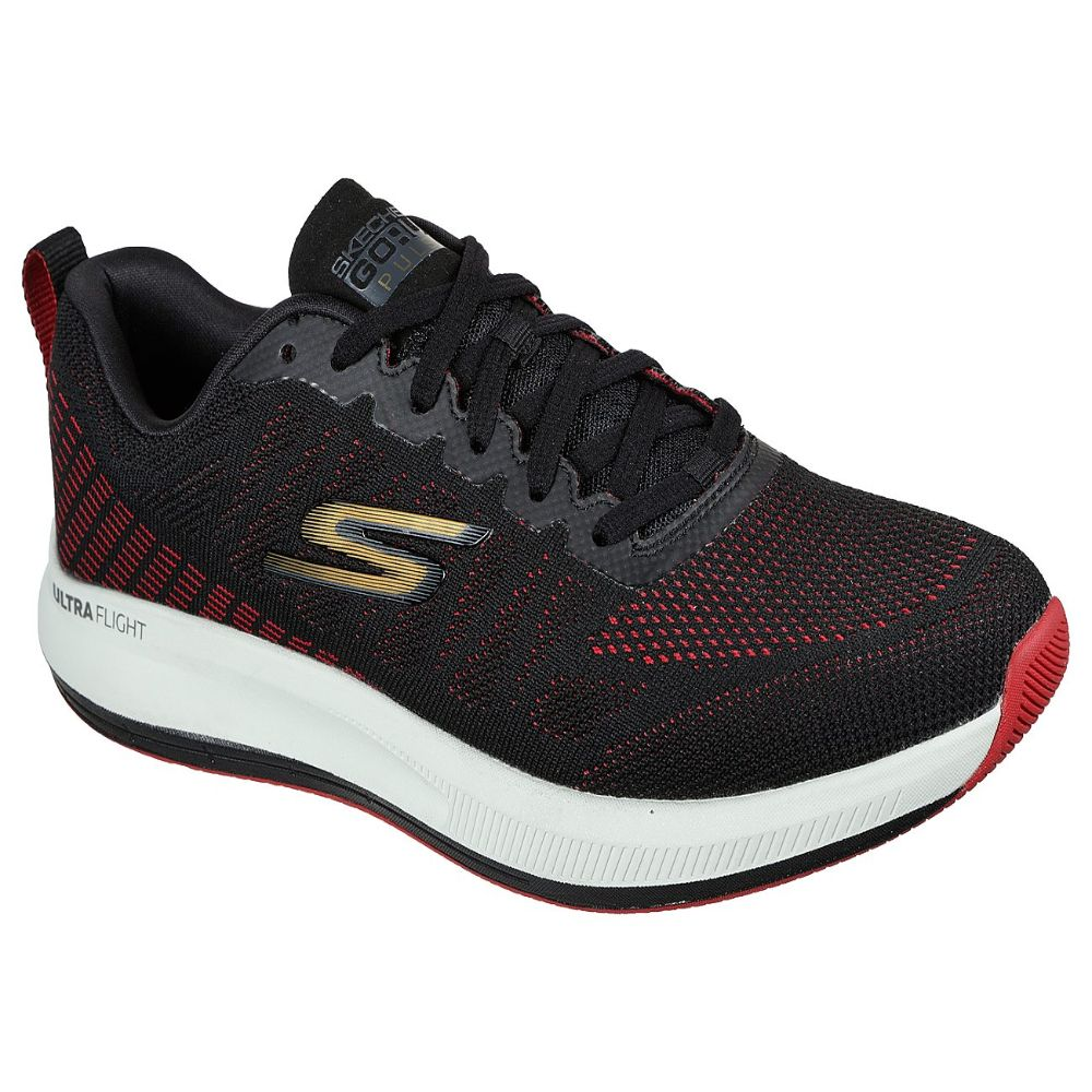 Skechers Men Go Run Pulse Performance Shoes - 220096-BKRD