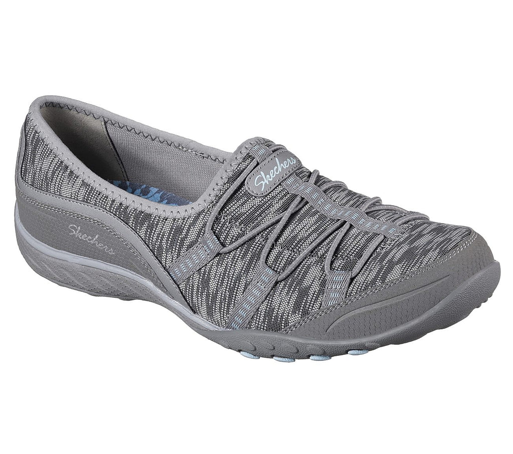 Skechers Breathe-Easy Women Lifestyle Shoe - 23033-GRY