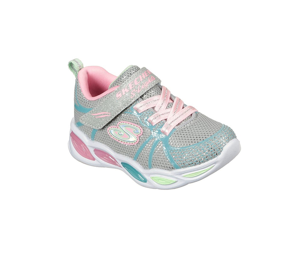 Skechers Girls Shimmer Beams Shoes - 302042N-GYMT
