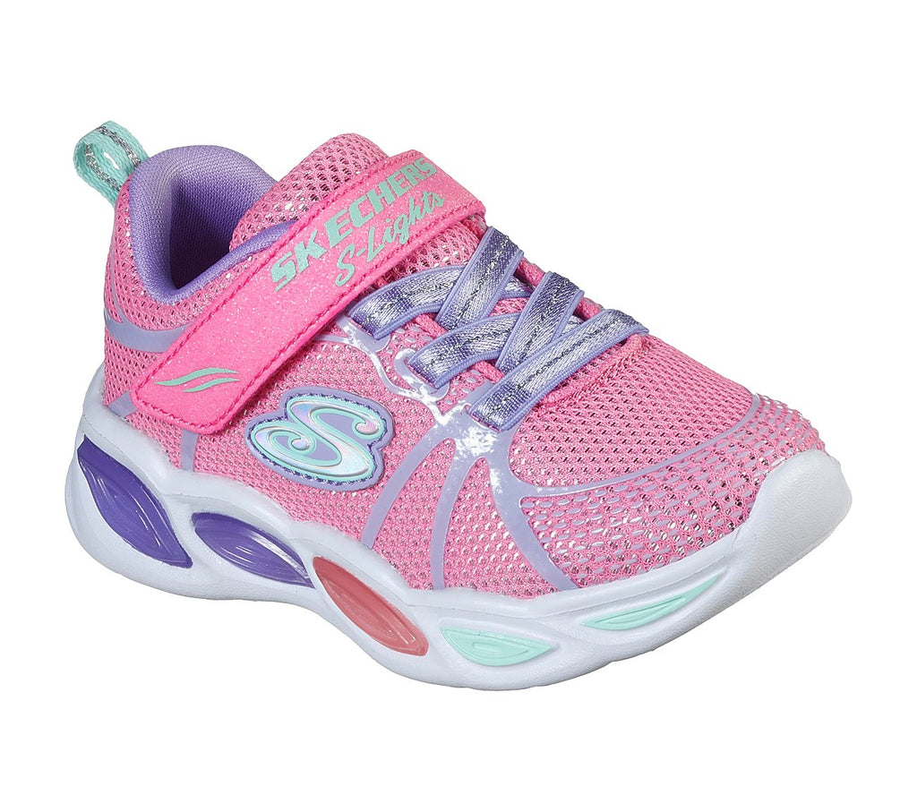Skechers Girls Shimmer Beams Shoes - 302042N-PKMT