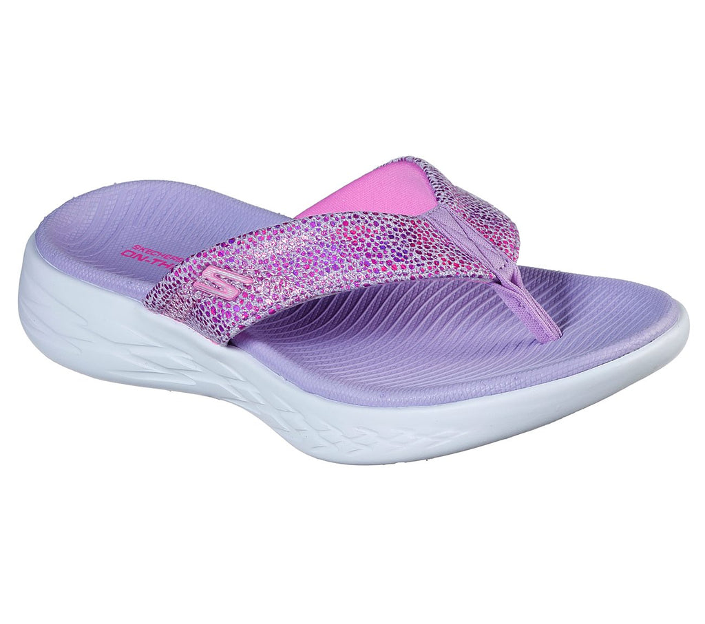 Skechers Girls On-The-Go 600 Shoes - 302119L-LAV