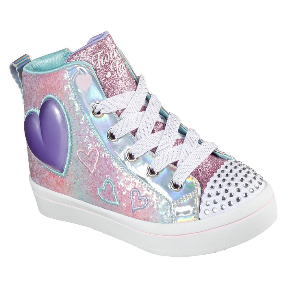 Skechers Girl Twi-Lites 2.0 Twinkle Toes Shoes - 314419L-LPMT