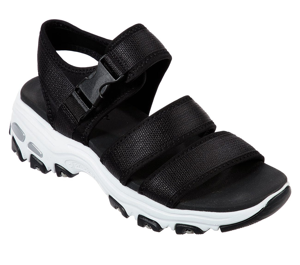 Skechers Women D'Lites Shoes - 33201-BLK