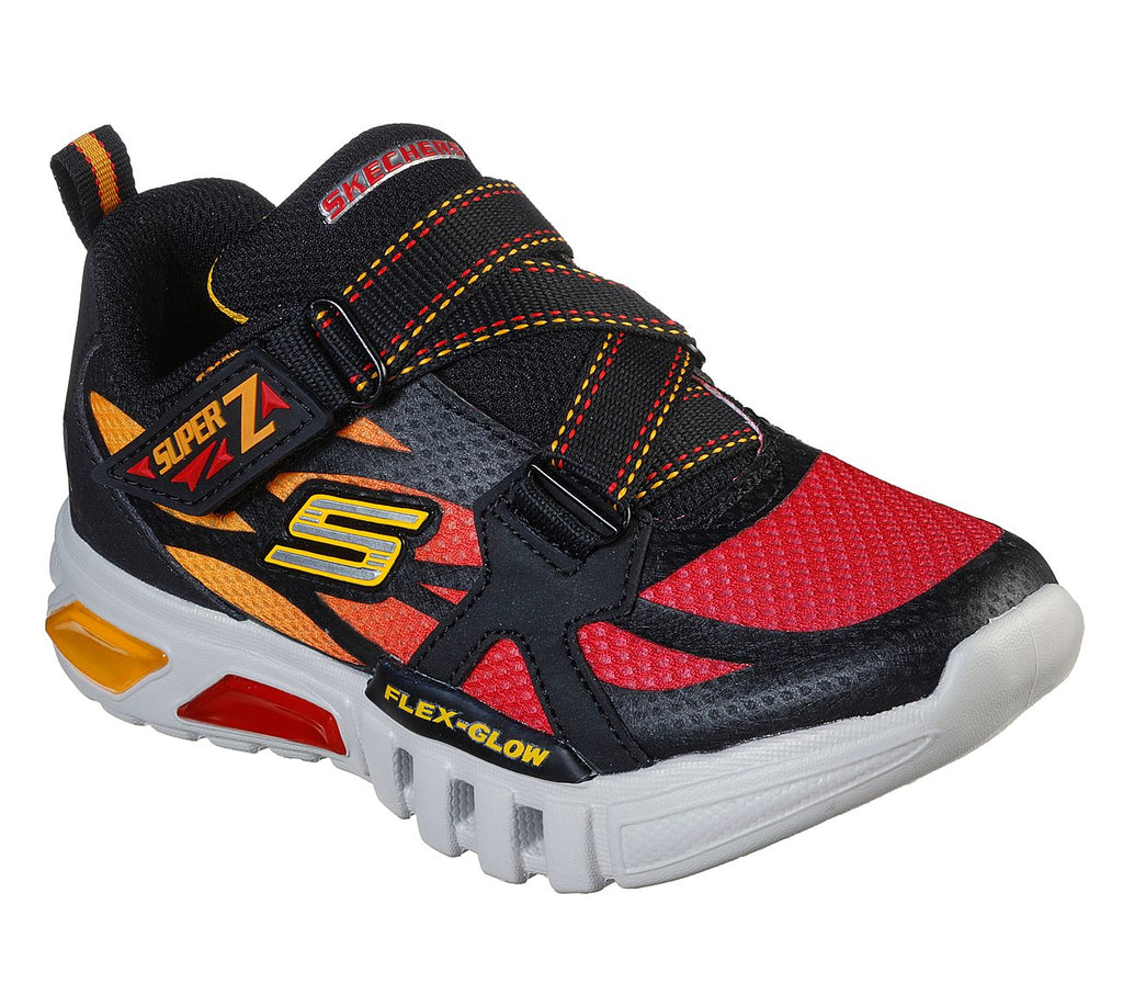 Skechers Boys Flex-Glow Shoes - 400015L-BKRD
