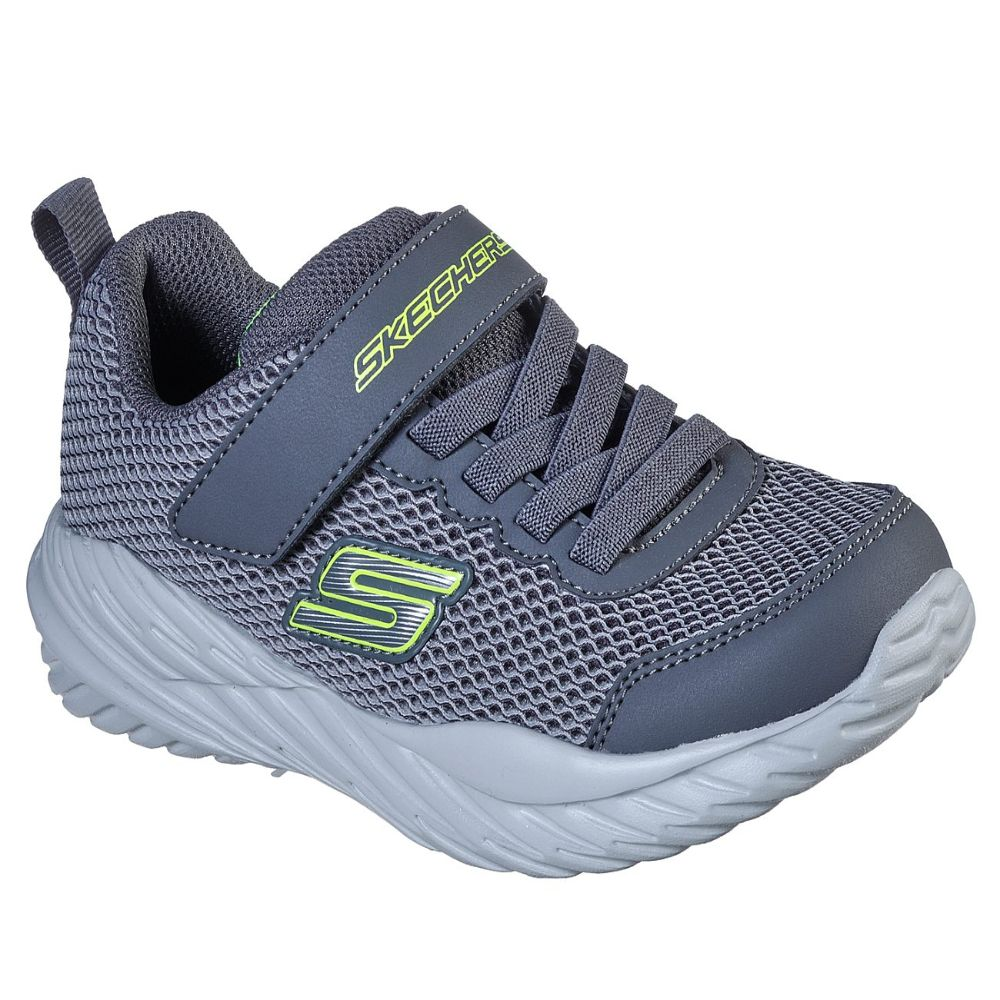 Skechers Boy Nitro Sprint Shoes - 400083L-GYLM