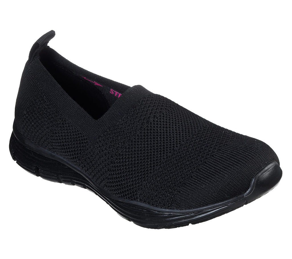 Skechers Seager Women Lifestyle Shoe - 49663-BBK