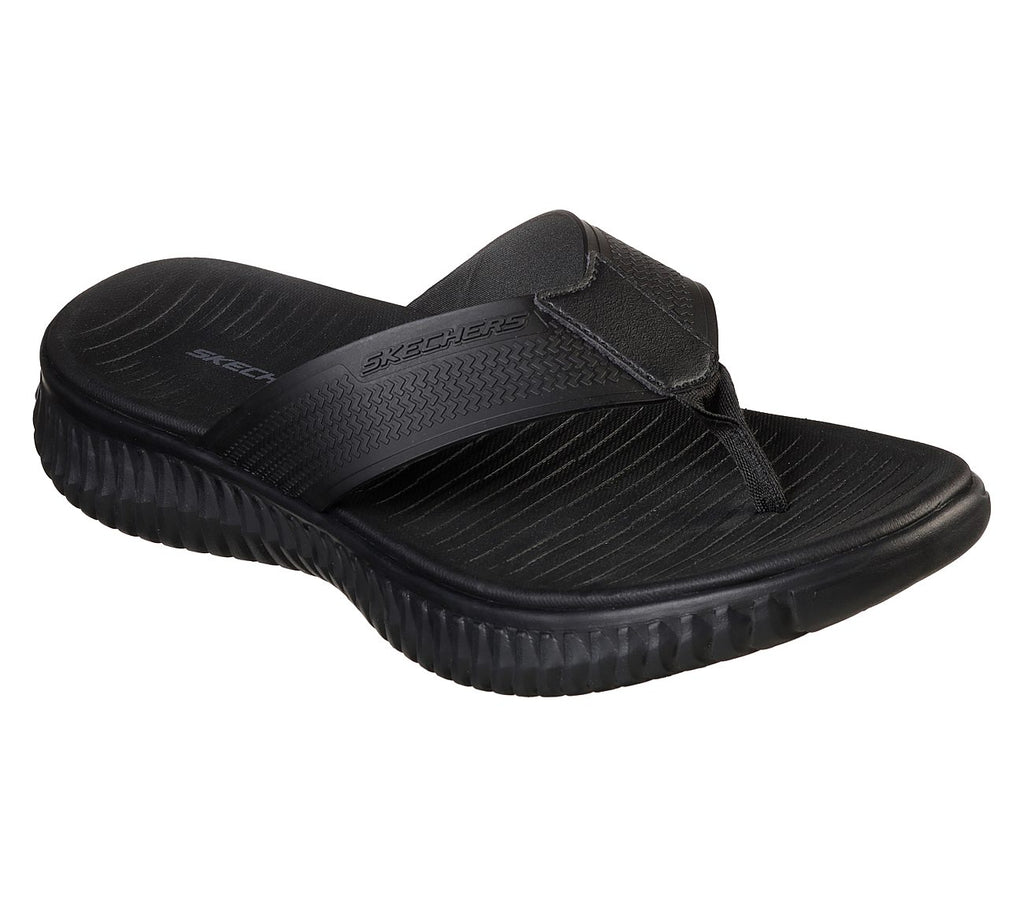 Skechers Men Sport Elite Flex Sandals - 51721-BBK