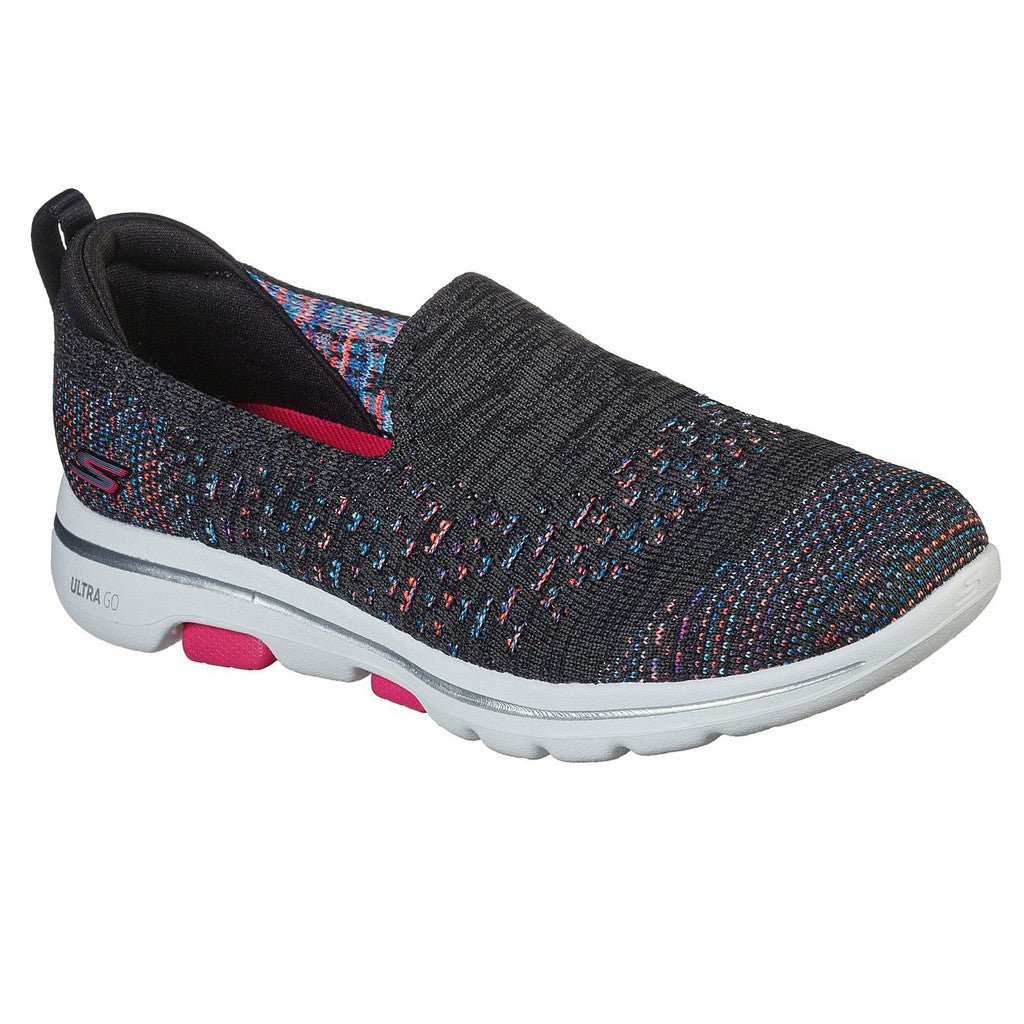 Skechers Women Go Walk 5 Shoes - 124167-BKMT