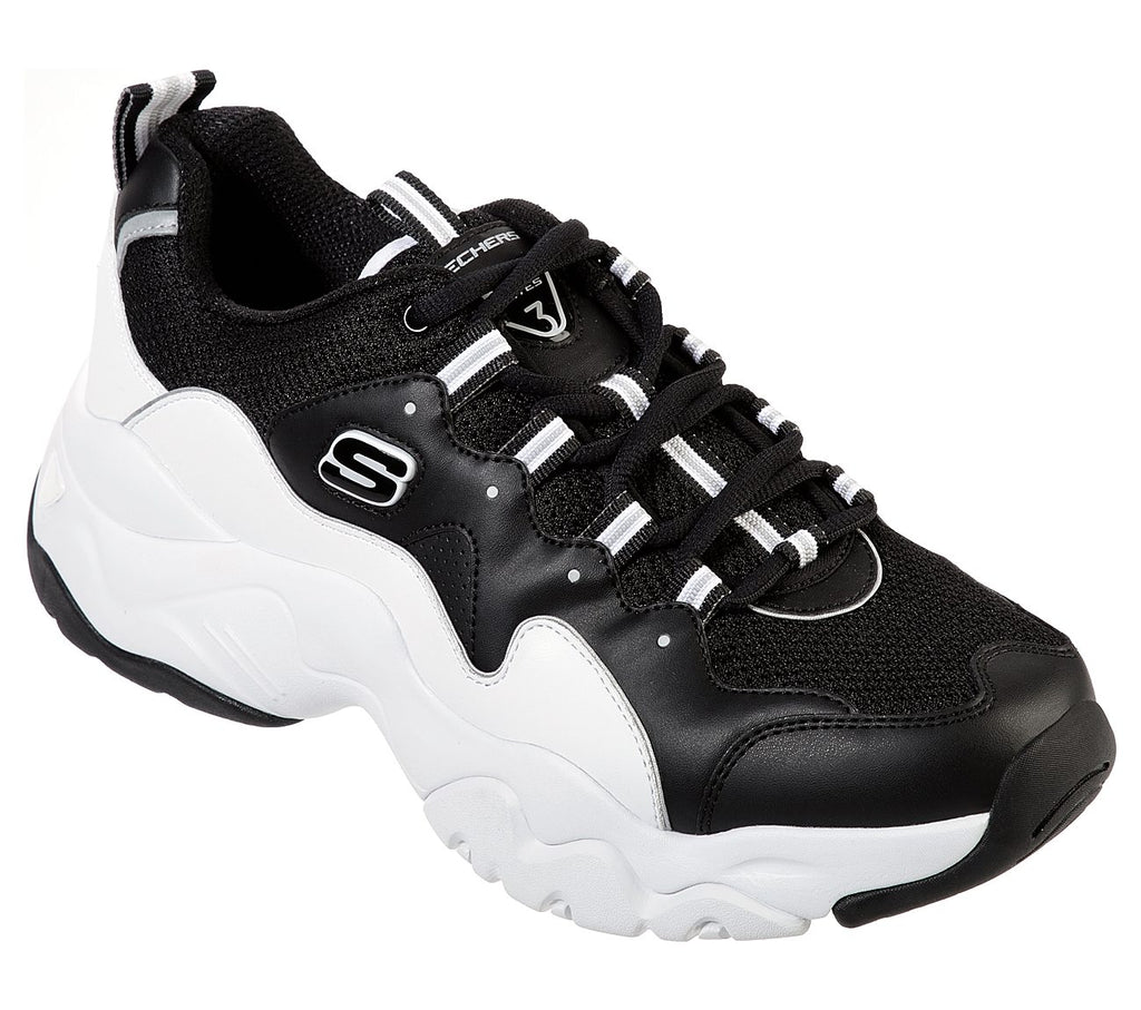 Skechers Men D'Lites 3 Skechers Sport Mens - 52685-BKW
