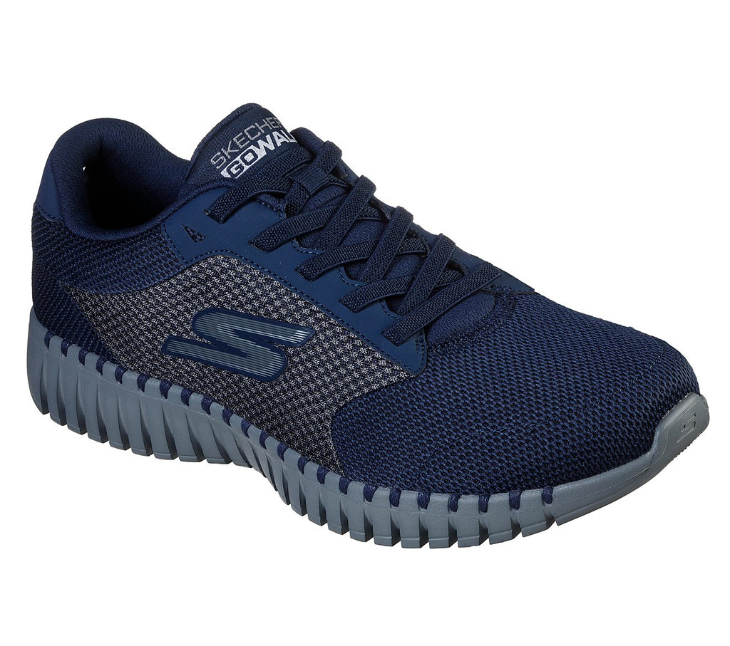 Skechers Men Go Walk Smart Shoes - 54940-NVGY