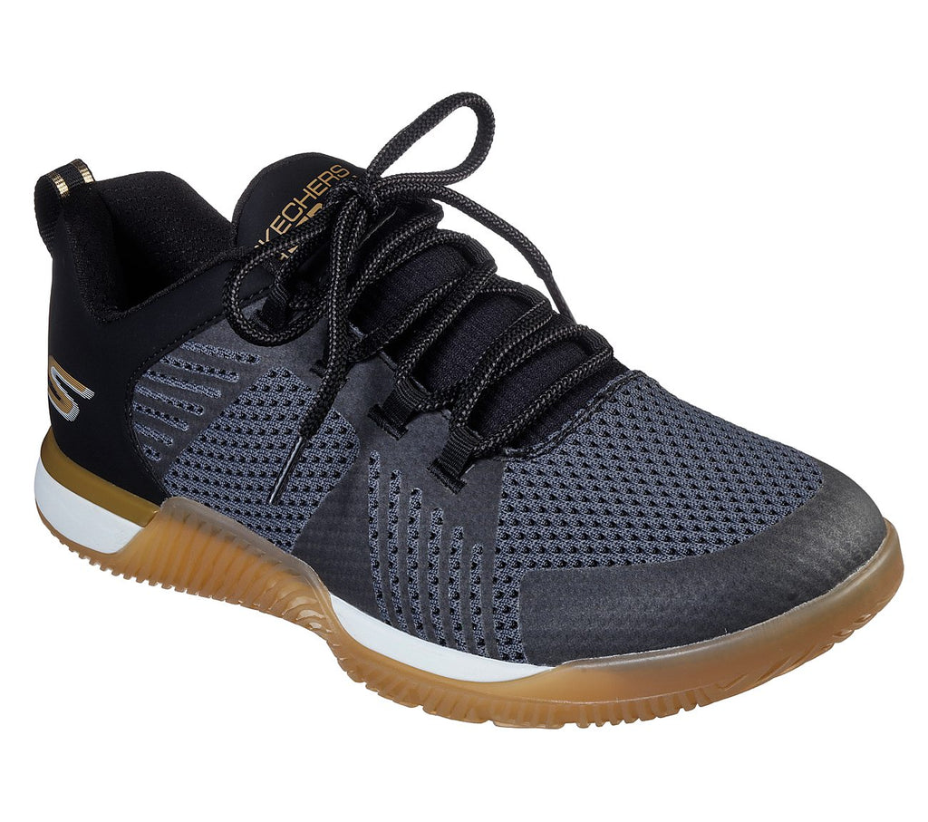 Skechers Go Train Men Lifestyle Shoe - 55218-BKGD