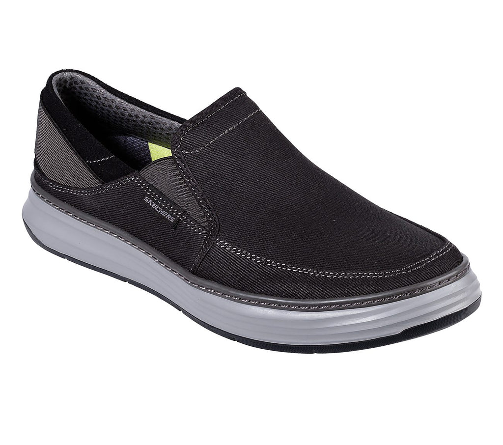 Skechers Men Moreno Skechers Mens Usa - 66062-BLK