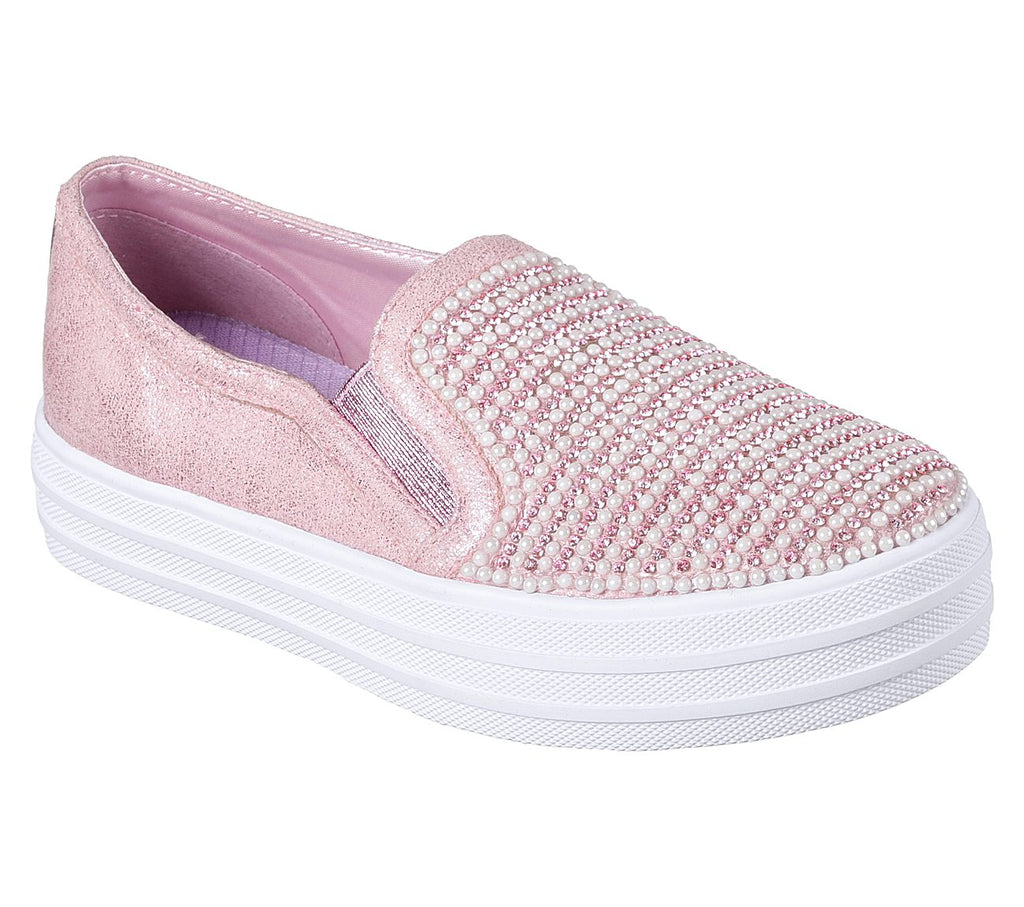 Skechers Double Up Girls Lifestyle Shoe - 84999L-PNK