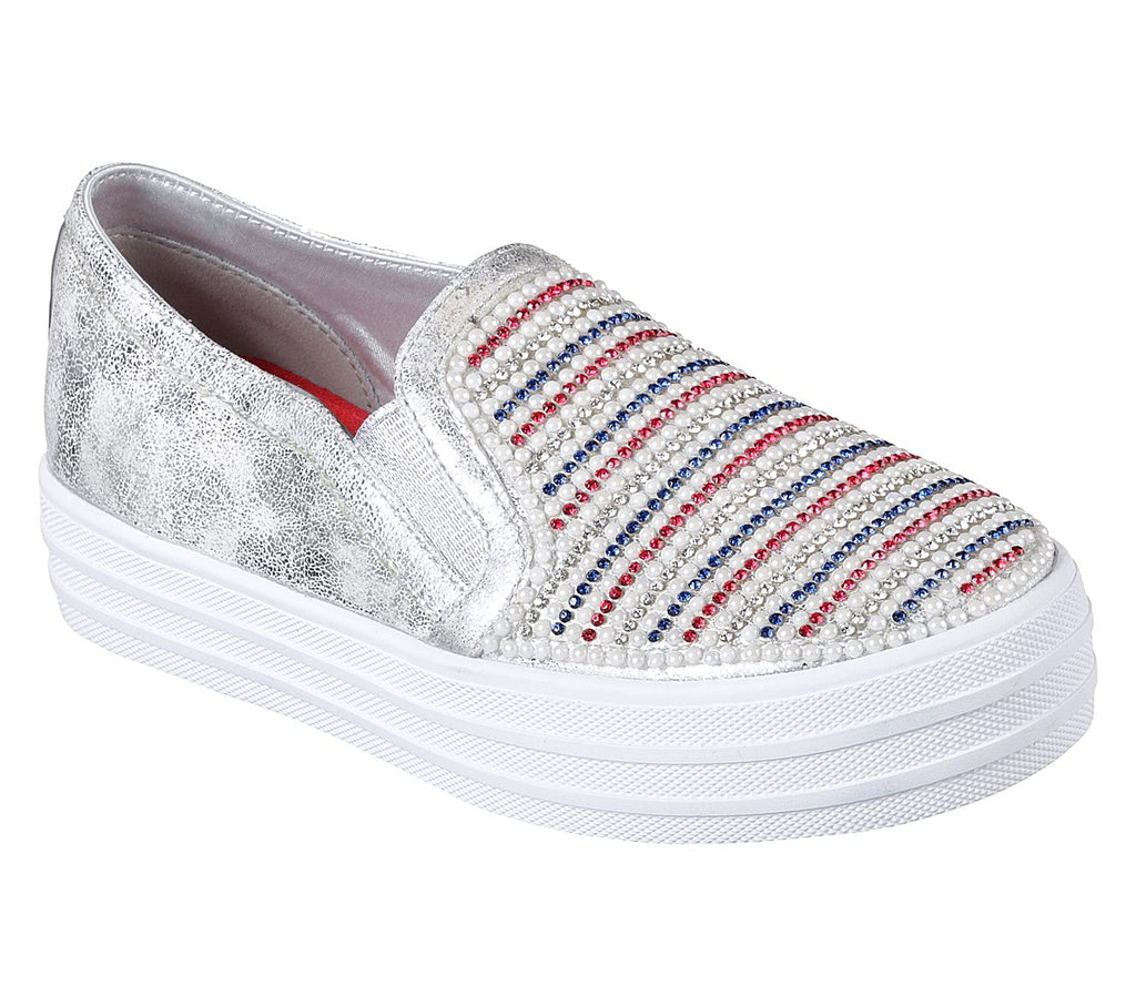 Skechers Double Up Girls Lifestyle Shoe - 84999L-WRNV