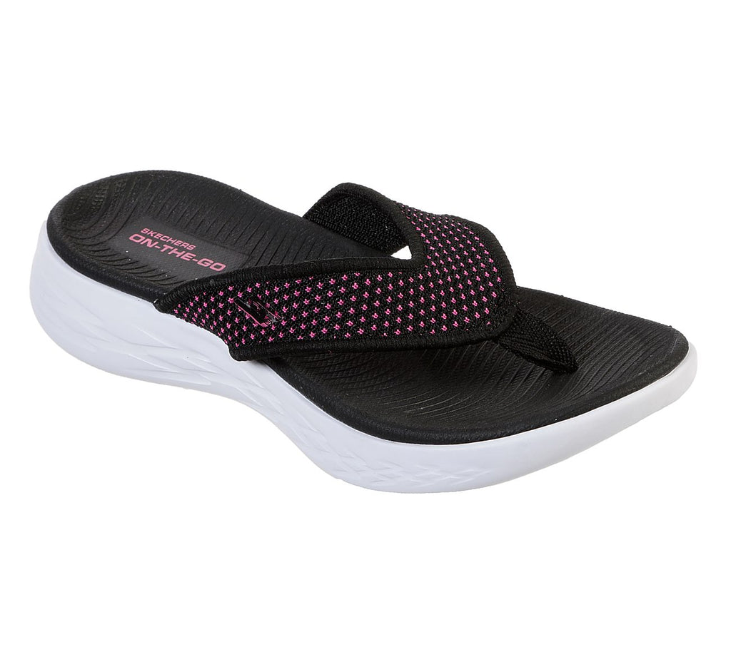 Skechers On-The-Go 600 Girls Lifestyle Shoe - 86966L-BKHP