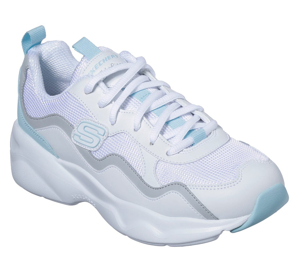 Skechers Women D'Lites Airy Sport Shoes - 88888201-WLGB