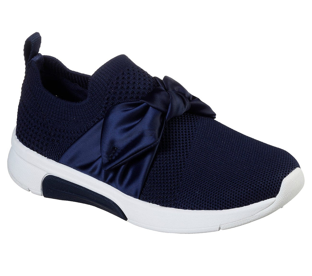 Skechers Modern Jogger Girls Lifestyle Shoe - 89800L-NVY