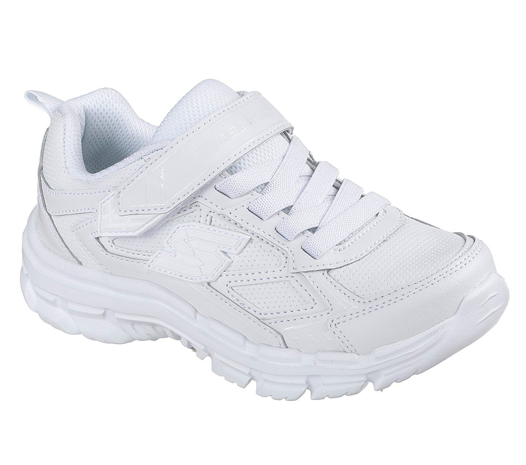 Skechers Nitrate Boys Lifestyle Shoe - 95357L-WHT