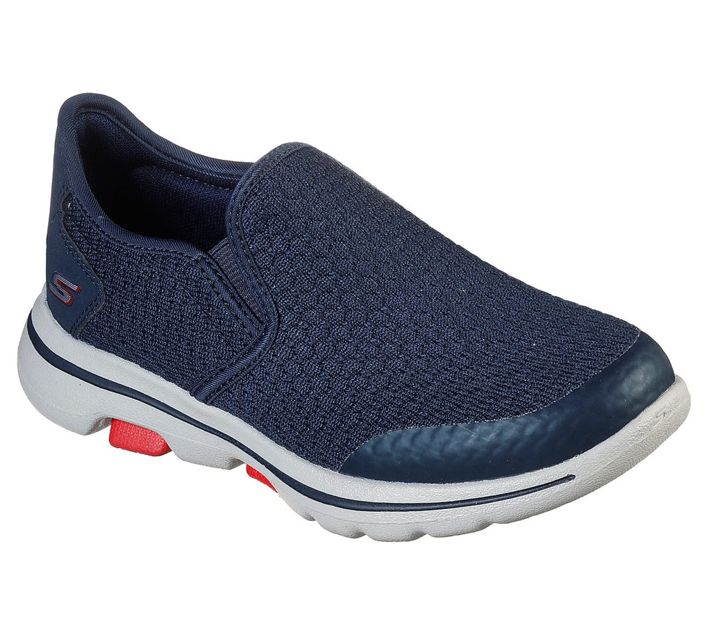 Skechers Boys Go Walk 5 Shoes - 95715L-NVRD