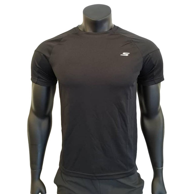 Skechers Men's T-Shirt - Black SP3MT18M06