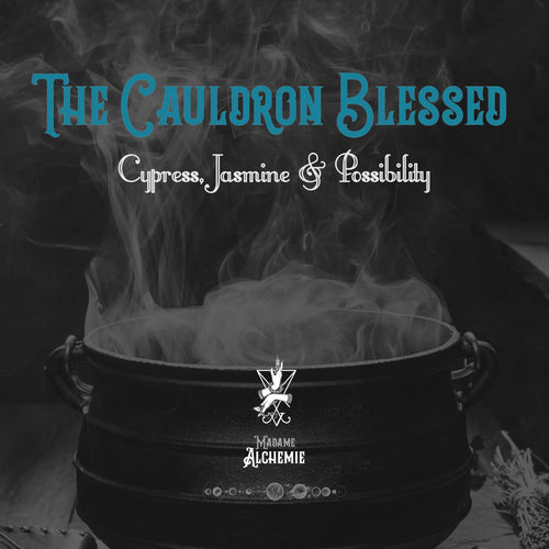 The Cauldron Blessed // Nail & Cuticle Oil