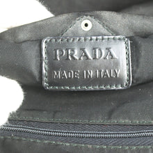 Load image into Gallery viewer, PRADA Nylon Canvas Cosmetic Pouch Case Make-up Purse Black