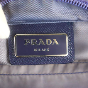PRADA Nylon Canvas Crossbody Shoulder Bag Purse Purple