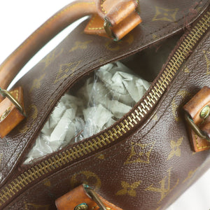 LOUIS VUITTON SPEEDY 25 Hand Bag Doctor Purse Monogram M41528 JUNK