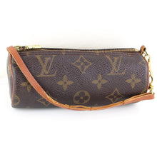 Load image into Gallery viewer, LOUIS VUITTON Mini Pouch for PAPILLON Old Model Purse Monogram Brown