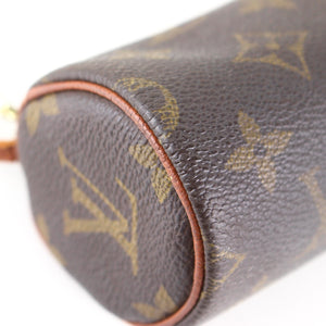 LOUIS VUITTON Mini Pouch for PAPILLON Old Model Purse Monogram Brown
