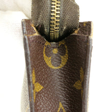 Load image into Gallery viewer, LOUIS VUITTON Mini Pouch for BUCKET PM Purse Monogram Brown JUNK