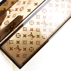LOUIS VUITTON Chopsticks Case Box Monogram Brown VIP Limited Case Only