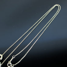 Load image into Gallery viewer, TIFFANY & CO. Paloma Picasso Chain Necklace Pendant Sterling Silver 925