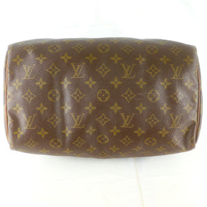 LOUIS VUITTON SPEEDY 30 Vintage Hand Bag Doctor Purse Monogram M41526 JUNK