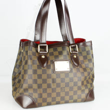 Load image into Gallery viewer, LOUIS VUITTON HAMPSTEAD PM Shoulder Tote Bag Purse Damier Ebene N51205