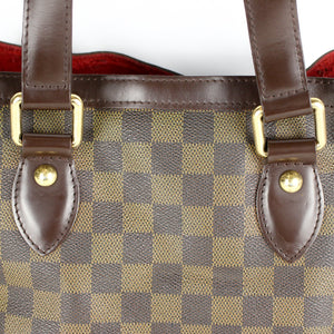 LOUIS VUITTON HAMPSTEAD PM Shoulder Tote Bag Purse Damier Ebene N51205