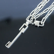 Load image into Gallery viewer, GUCCI Chain Pendant Necklace Sterling Silver SV925