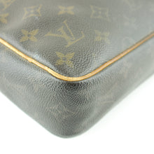 Load image into Gallery viewer, LOUIS VUITTON COMPIEGNE 23 Clutch Bag Dopp Bag Purse Monogram M51847 Brown