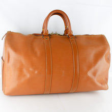 Load image into Gallery viewer, LOUIS VUITTON KEEPALL 45 Boston Travel Bag Purse Epi Leather M42978 Cipango Gold