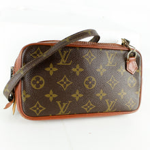 Load image into Gallery viewer, LOUIS VUITTON MARLY BANDOULIERE Old Model Shoulder Bag Purse Monogram JUNK
