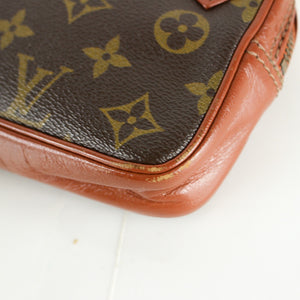 LOUIS VUITTON MARLY BANDOULIERE Old Model Shoulder Bag Purse Monogram JUNK