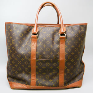 LOUIS VUITTON SAC WEEKEND GM Vintage Tote Bag Purse Monogram M42420 JUNK