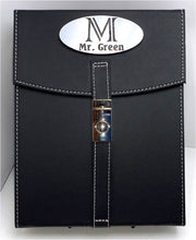 Load image into Gallery viewer, 10 stick cigar case monogrammed with name.
