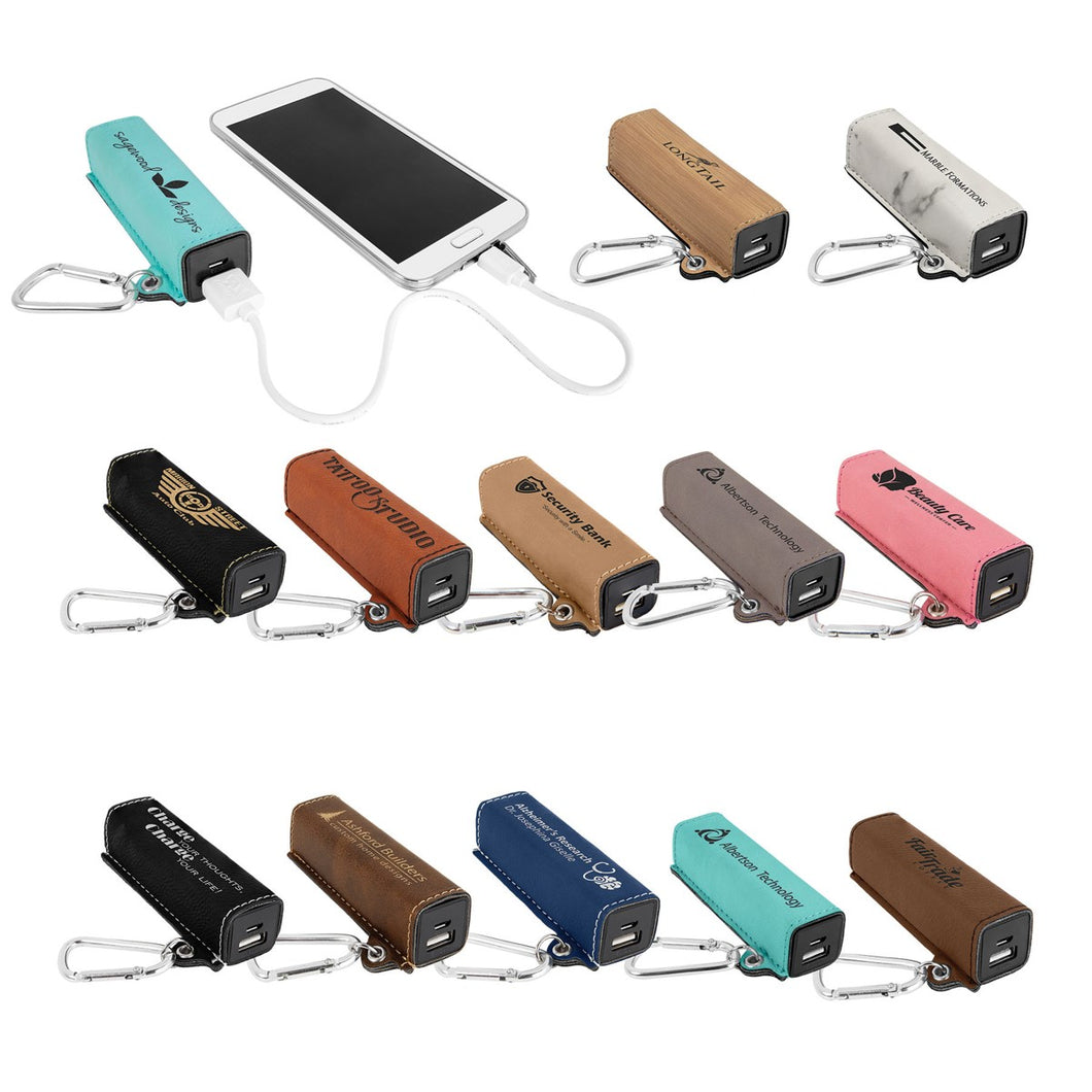 Leather Power Banks
